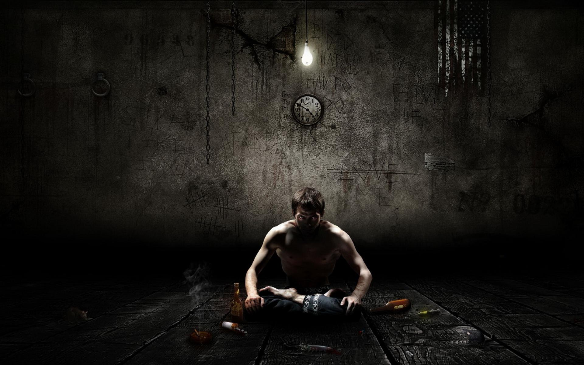 Картинки Человек, мальчик, медитация, одиночество фото и обои на рабочий стол