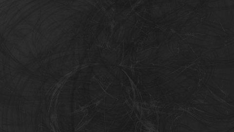 Стена, поверхность, круги, серый