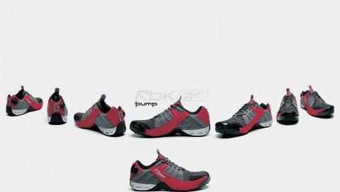 Reebok, обувь, спорт, бренд, стиль