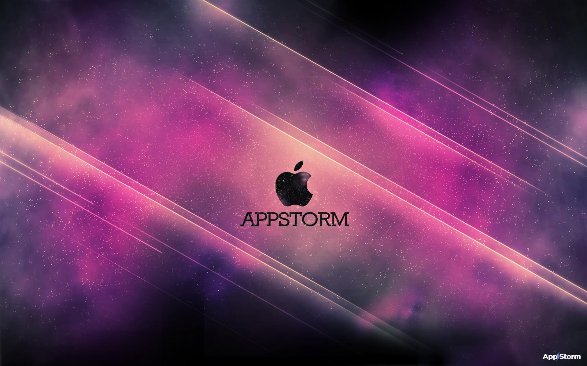 Картинки App store, apple, mac, dark, pink, paper фото и обои на рабочий стол