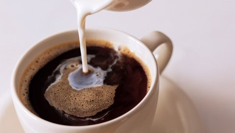 Кофе, зерно, чашка