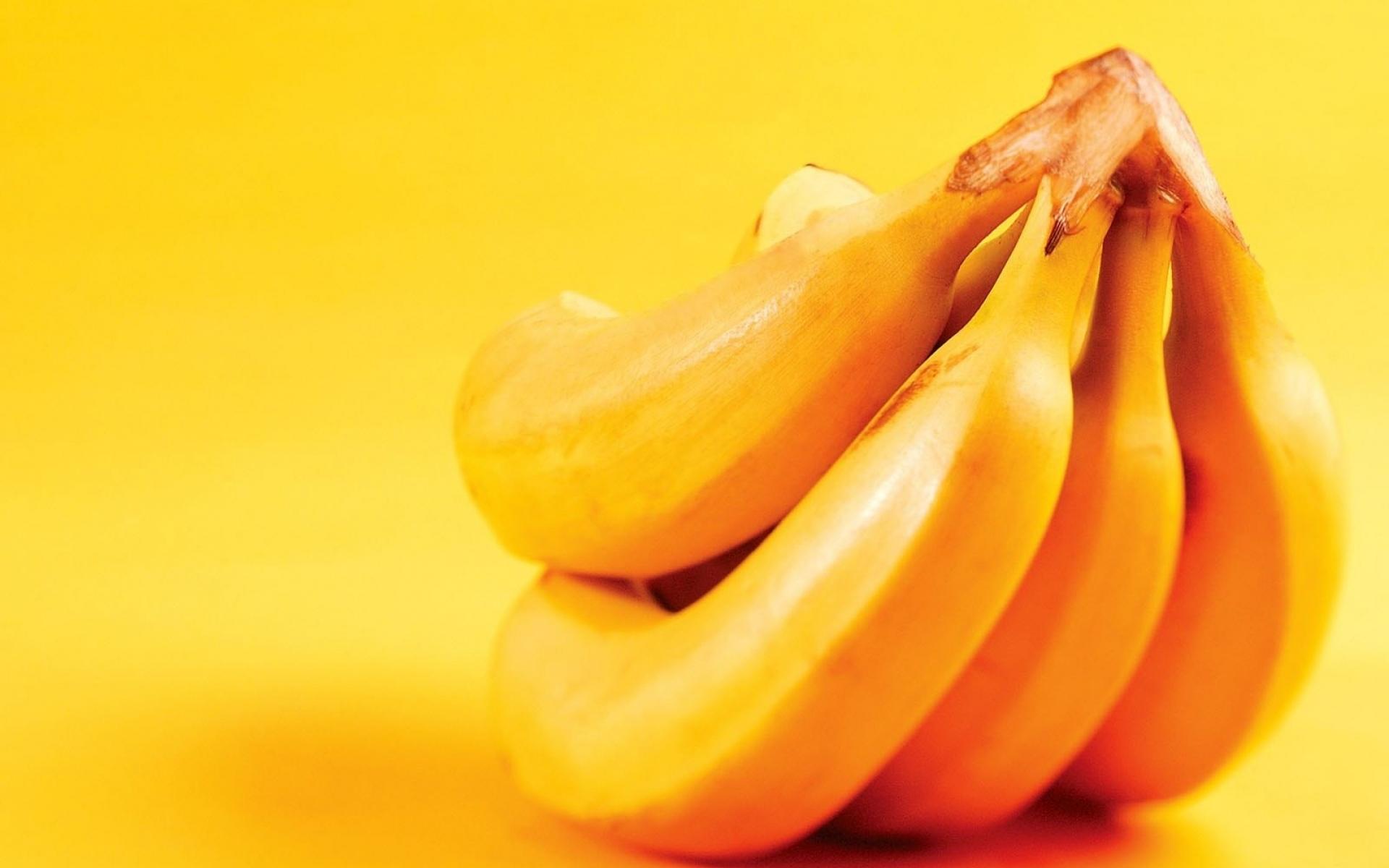 Картинки Бананы, фрукты, спелые, желтые фото и обои на рабочий стол