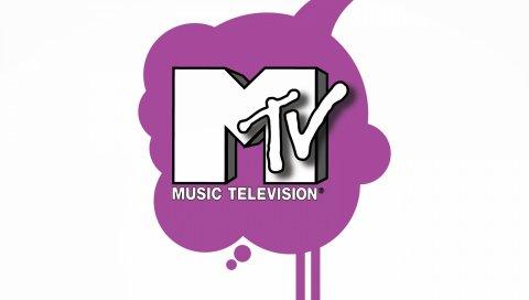 Mtv, логотип, телевидение, музыкальное телевидение
