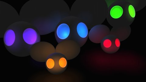 Deadmau5, мыши, свет, отражение, фон