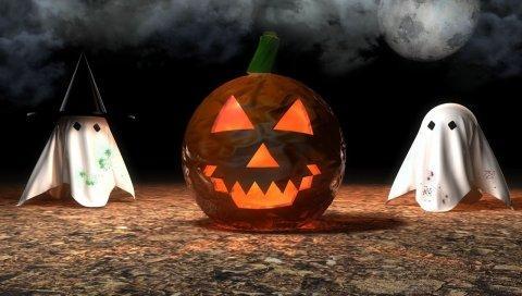 Хэллоуин, тыква, фонарик домкратов, атрибут, фантомы