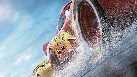 Pixar, анимация, автомобили