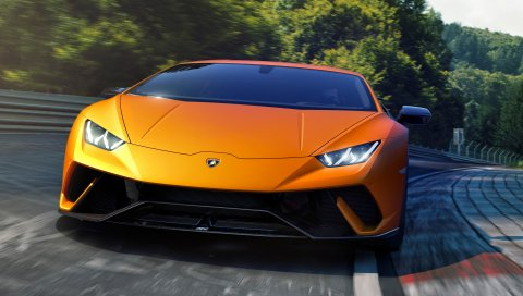 Lamborghini, Huracan, 2017, Performante