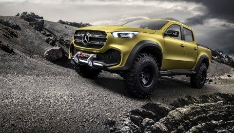 Концепция, Mercedes, Benz, Class, 2017, Pickup, Adventurer