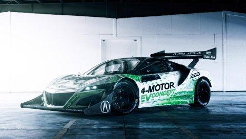 Концепт, Acura, 2016, Автомобиль, NSX
