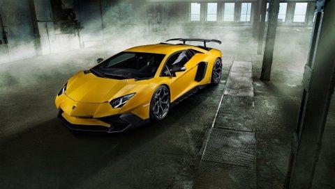 Lamborghini, SuperVeloce, Aventador, 750
