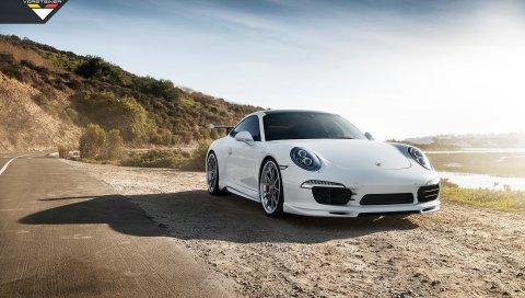 Porsche, Carrera, Vorsteiner, Aero, 2016, Программа