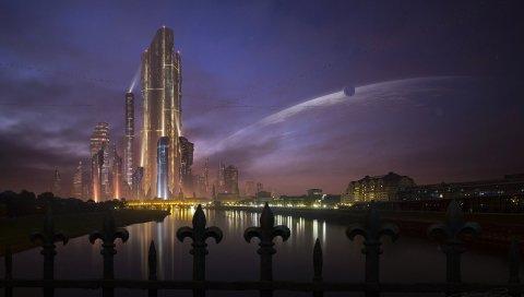 Будущее, город