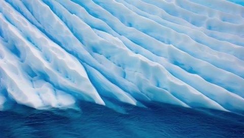 Ледник, океан