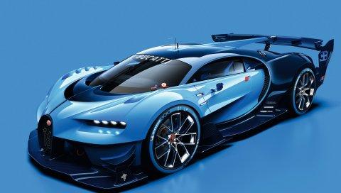 Gran, Turismo, Vision, Bugatti, 2015