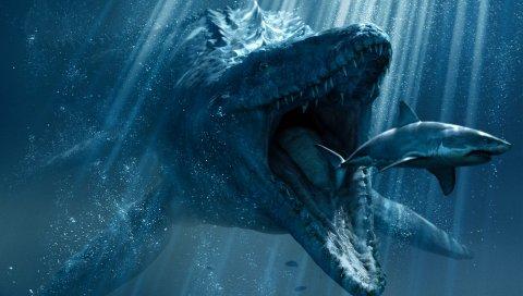 Подводный мир, юрское время