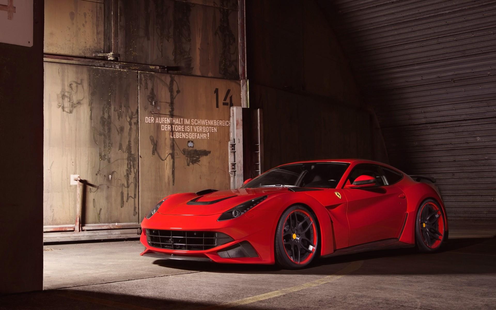 Картинки Ferrari, 2014, Novitec, Rosso, berlinetta, LARGO фото и обои на рабочий стол