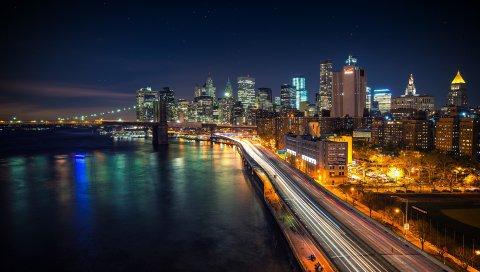 Манхэттен, Ночи