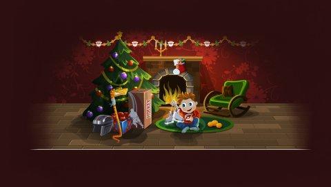 Рождество, сюрприз