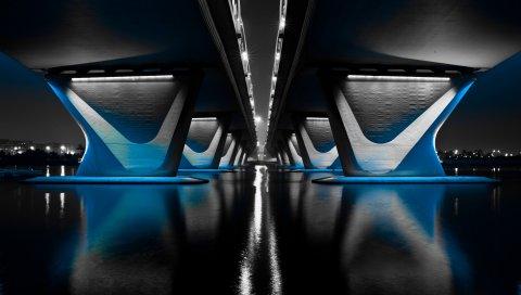 Мост, Полночь