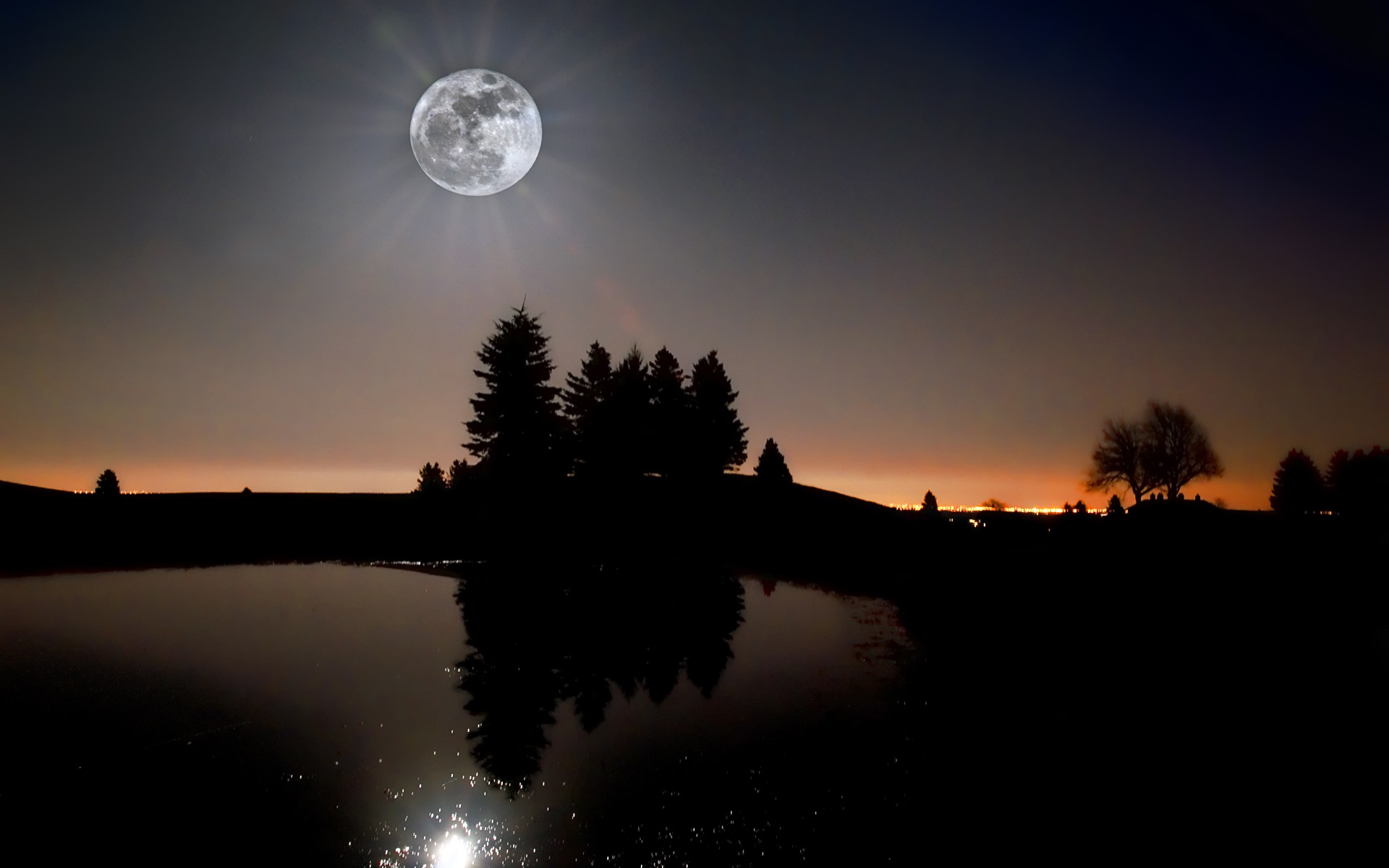 Картинки лунный свет фото