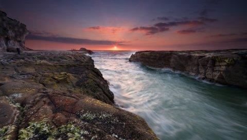 Закат, Пляж, Муривай