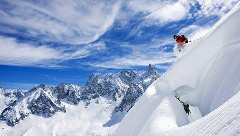 Франция, Катание на лыжах