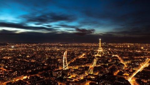Ночь, Париж