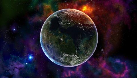 Красочный, Космос, Вселенная