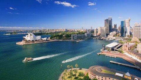 Австралия, Сидней, Центр города