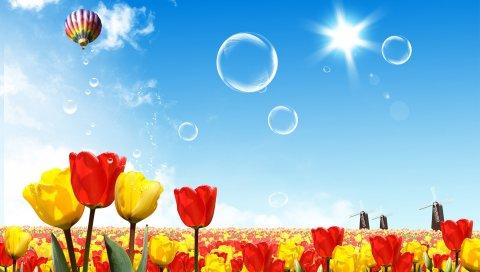 Цветы, Мир, Фэнтези