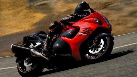 Suzuki, Hayabusa, скорость, 2008