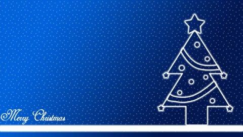Рождество, Веселый, Счастливый