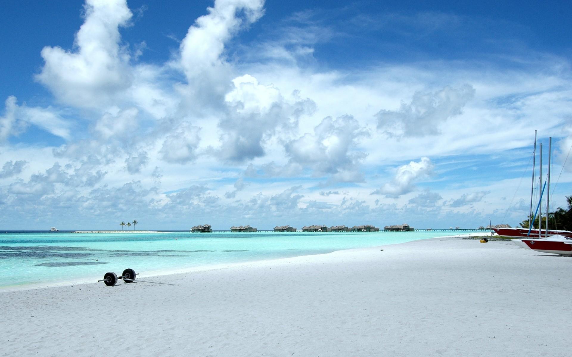 Картинки Пляж, Облака фото и обои на рабочий стол