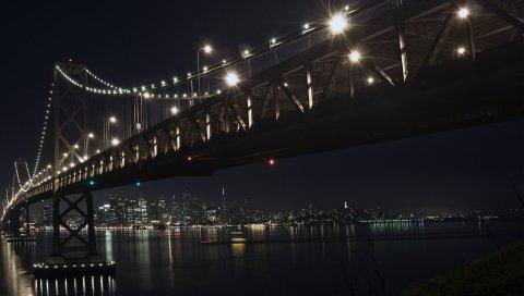 Ночь, мост